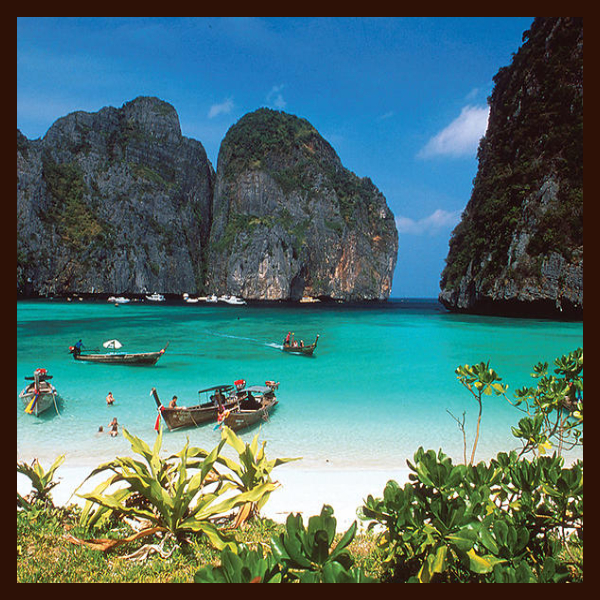 Ko Phi Phi, Places to visit in Thailand