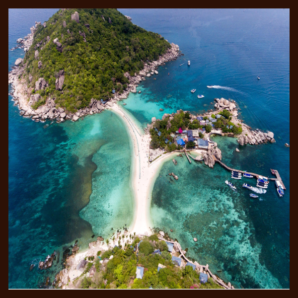 Ko Tao, Places to visit in Thailand