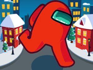 Among Us Christmas Run