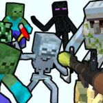 Minecraft Shooter Save Your World